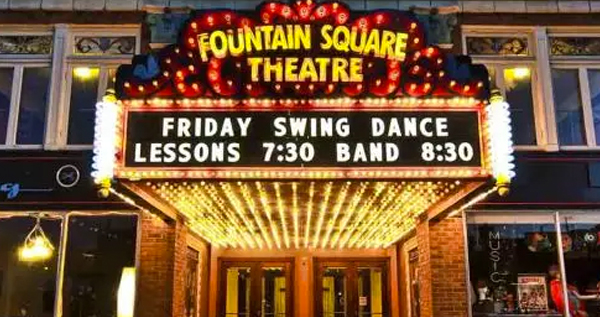 Fountain Square Dance banner