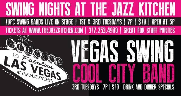 Vegas Swing Night banner